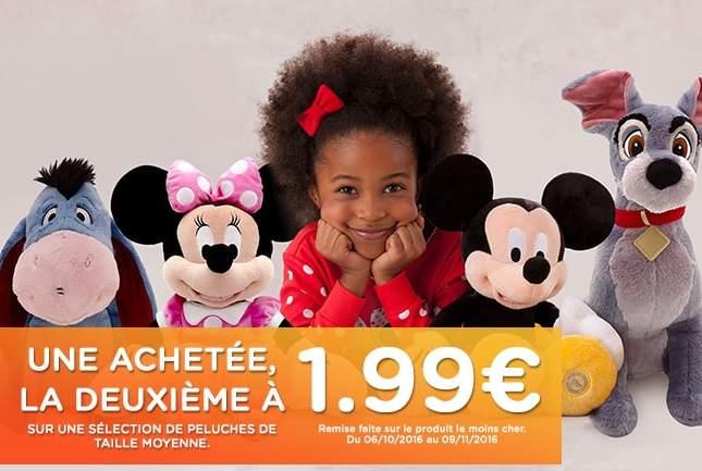 seconde peluche Disney sur Disney store