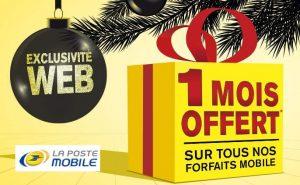 1 mois offert sur votre forfait La Poste Mobile