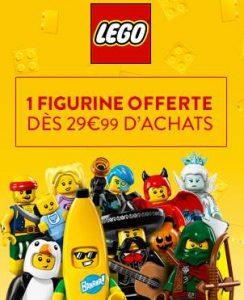 1 sachet mini-figurine Lego gratuit