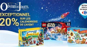 Calendrier De L Avent Lego Star Wars Carrefour.Carrefour 20 Sur Les Calendriers De L Avent Lego