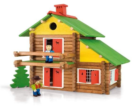 chalet suisse jeujura bois a construire  pieces fabrique france