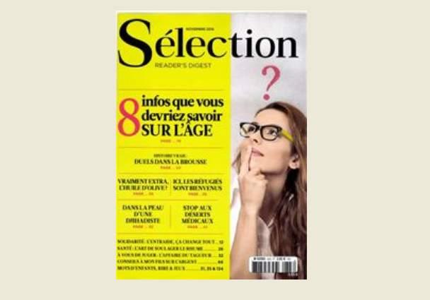 reader digest abonnement selection livre