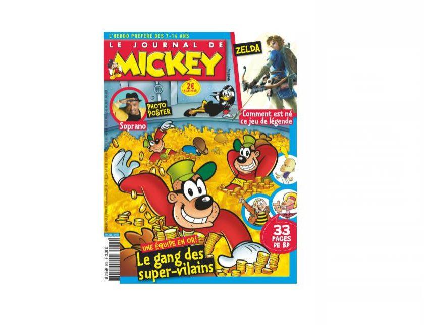 Abonnement au Journal de Mickey pas cher