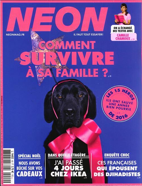 Abonnement magazine NEON pas cher