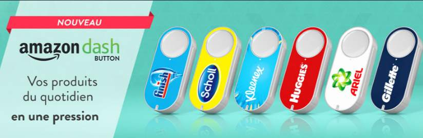 Amazon Dash Button 100% remboursé
