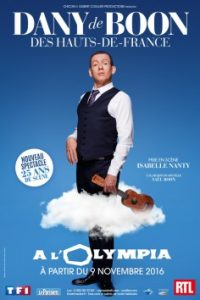 Billet Dany Boon à L'Olympia pas cher