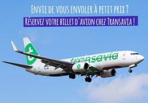 Billet avion Transavia moins cher
