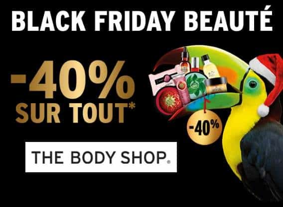 Black Friday – Cyber Monday The Body Shop