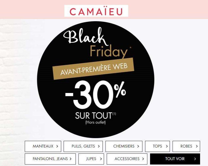 Black Friday Camaïeu