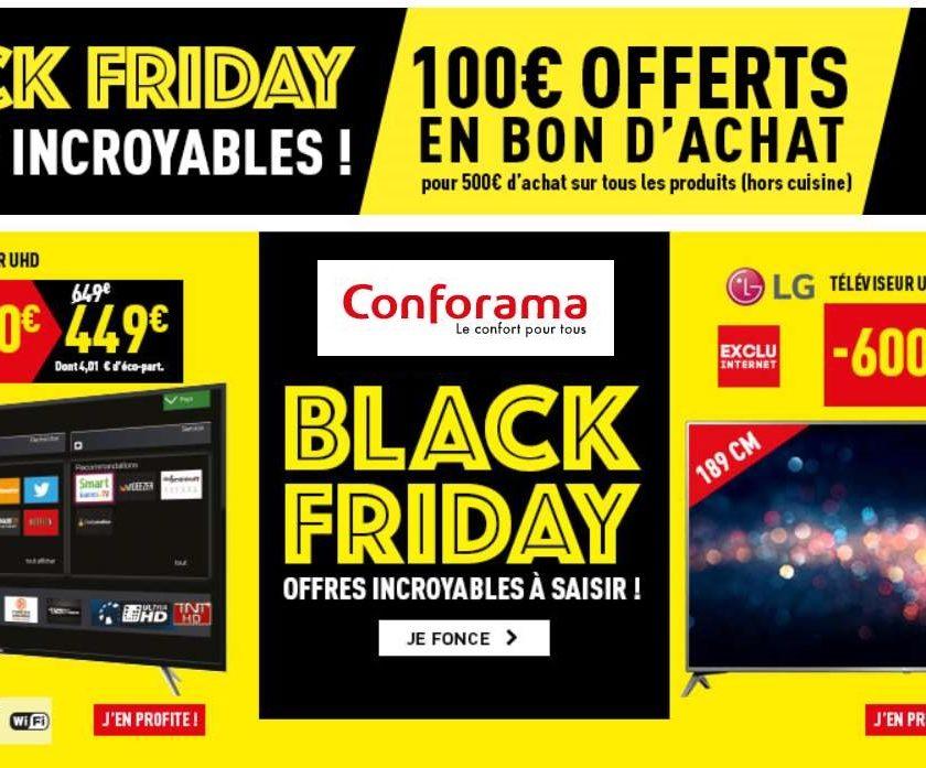 conforama 50 euros offerts pour 300 euros d achats valable sur les soldes. Black Bedroom Furniture Sets. Home Design Ideas