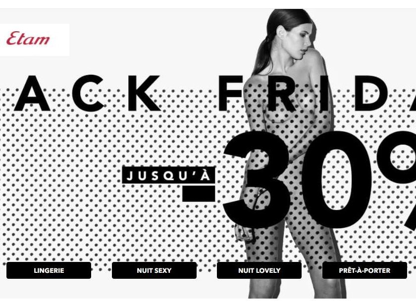 Black Friday ETAM