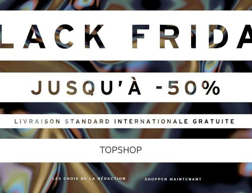 Black Friday TOPSHOP