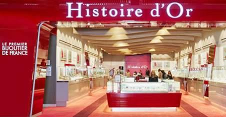Bon d'achat Histoire d'Or