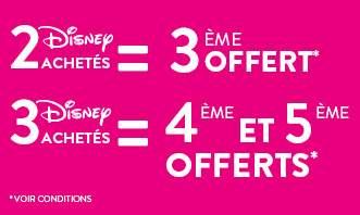 Bon plan DVD Disney