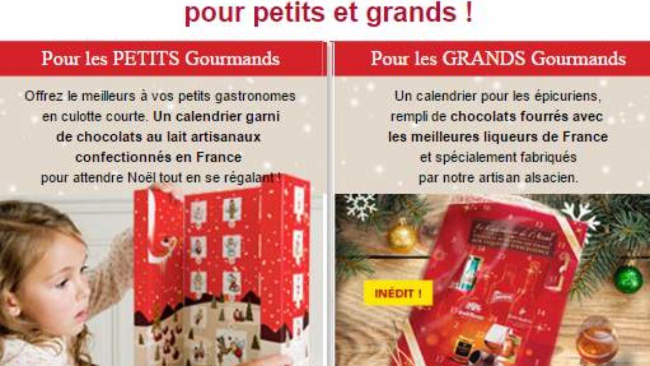 Calendrier De Lavent Gourmand Pas Cher Pour Petitgrands