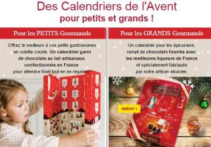 calendrier de l 39 avent gourmand pas cher pour petit grands. Black Bedroom Furniture Sets. Home Design Ideas