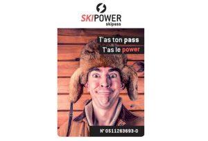 Carte Ski Power moins chère