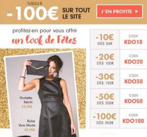 Des marques & Vous : de 10 à 100€ de remises
