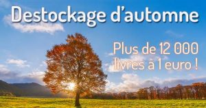Déstockage de livres : plus de 12000 livres à 1€ sur Livrenpoche