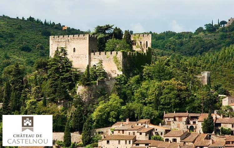Entrée pour le Château de Castelnou pas chère