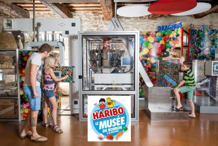 Entrees au Musee du bonbon Haribo moins cheres