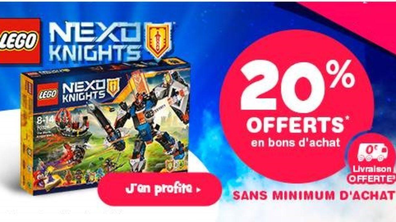 Knights Nexo D'achat Toys'r Usbon Sur Les 20Offert Lego y6gbf7