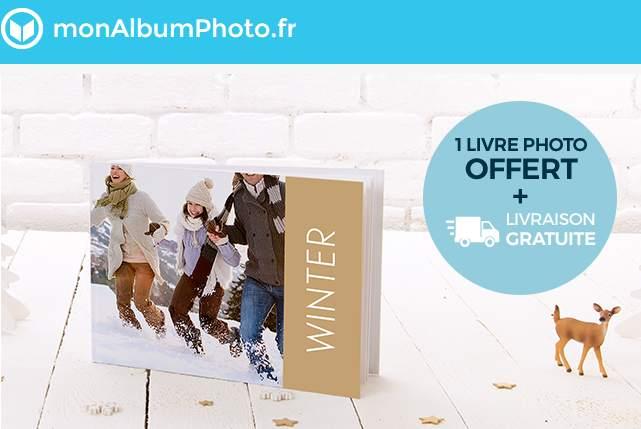Livre photo gratuit + livraison gratuite sur Mon Album Photo