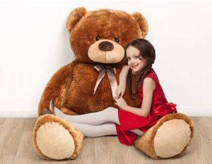 Moins de 25€ le très grand ours en peluche 1m
