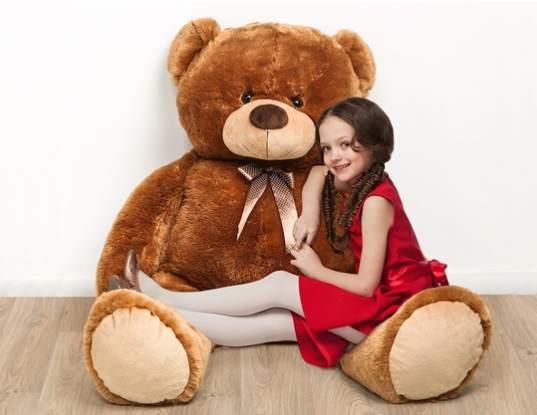 moins de 25 le tr s grand ours en peluche 1m ou 44 99 1 5m. Black Bedroom Furniture Sets. Home Design Ideas