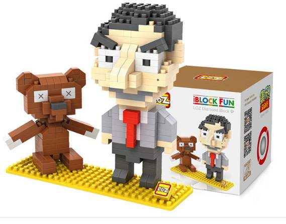 Moins de 4€ Mr Bean à construire (type Lego)