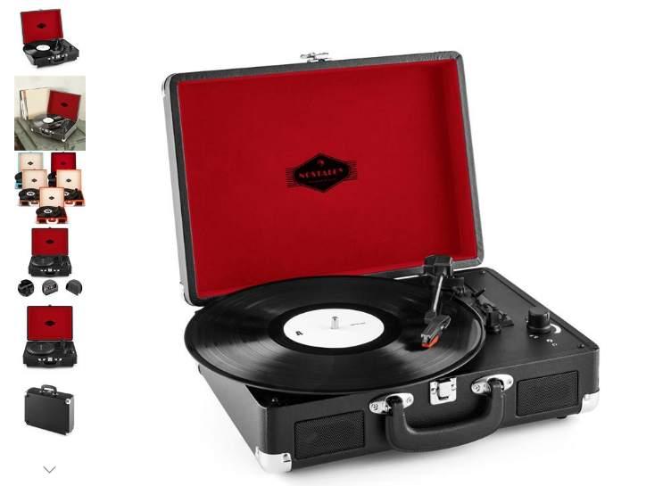 49 99 u20ac la platine vinyle ion portable avec hp int u00e9gr u00e9s   convertisseur usb