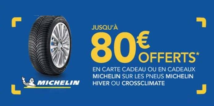 Offre pneus hiver Michelin