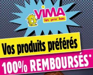 Opération 100% remboursé Vima