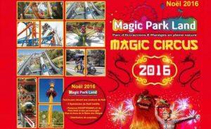 Pass famille Magic Park Land Spécial Magie de Noël pas cher