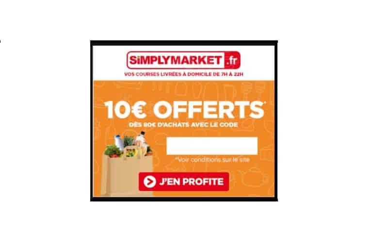 Simply Market 10€ de remise