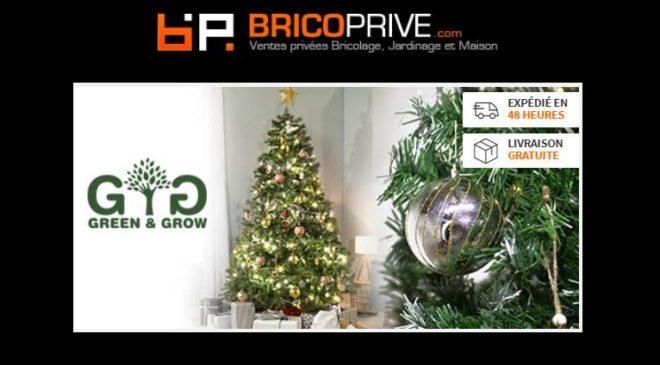 Vente privée sapins de Noël artificiels