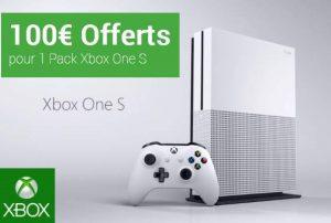 bon plan Xbox One S sur la FNAC