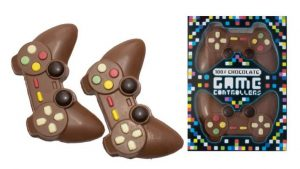 joysticks Playstation en chocolat