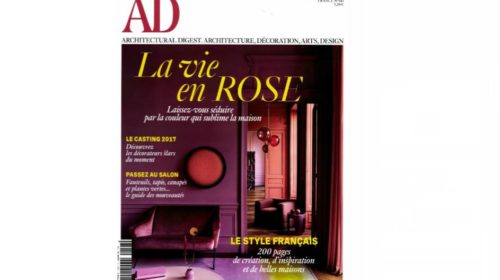 magazine AD Architectural Digest