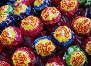 manège de 200 sucettes Chupas chups