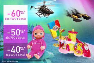 remise immédiate sur les jouets & jeux sur Auchan