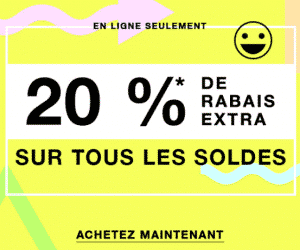 20% supplementaire sur les soldes Forever 21