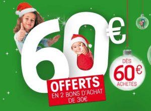 60€ d'achats sur King Jouet = 60€ offerts