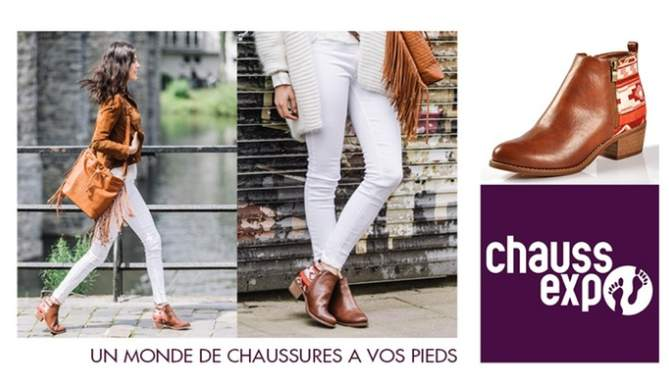 Bon d'achat Chaussexpo