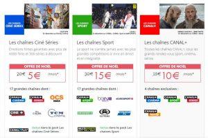 Bon plan pack Essentiel Canal+