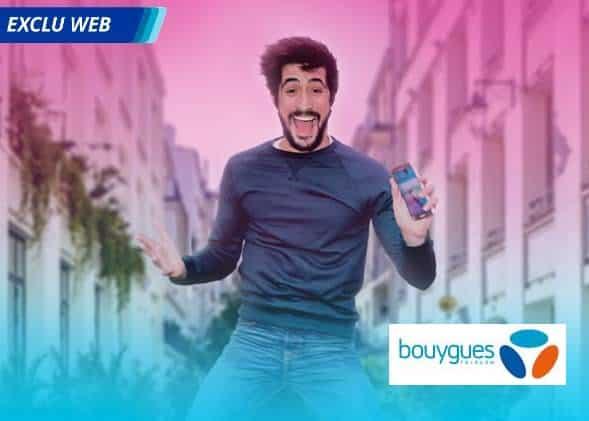 Forfait B&YOU 20Go à moins de 4€/mois