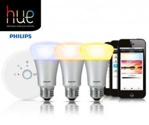 Lampes connectées Philips Hue