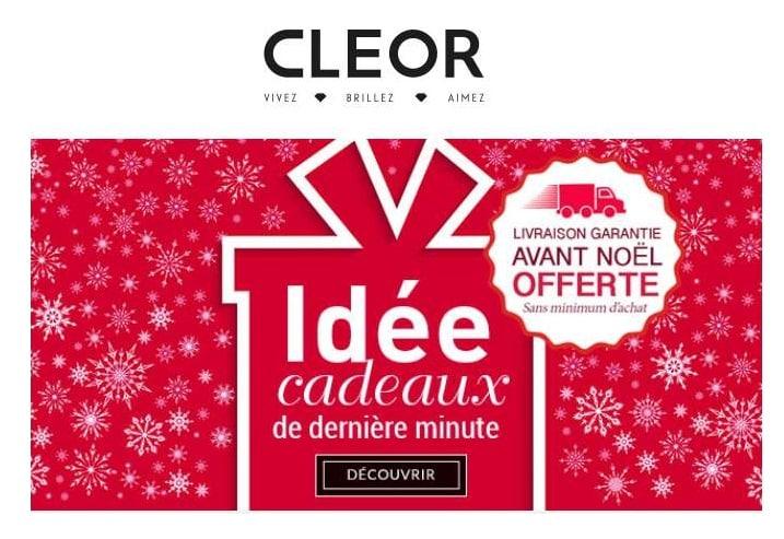 Livraison Chronopost gratuite sur Cleor