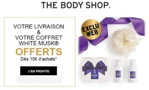Mini box beauté White Musk Body Shop gratuite