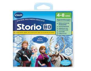 Moins de 10€ le jeu Reine Des Neiges Hd Storio Vtech